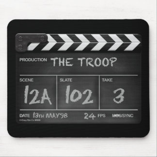 The Troop clapperboard mousepad