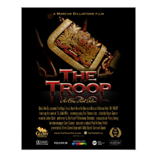 """The Troop classic poster (16'x20"""" for std frame)"""