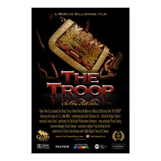 The Troop classic poster large (for std frame)
