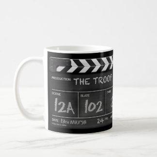 The Troop Personalised Clapperboard Mug