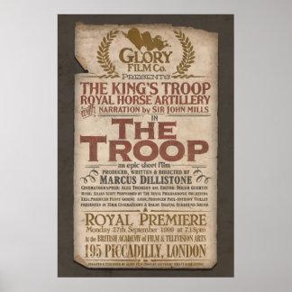 The Troop Vintage Style Poster 61cm x 91cm