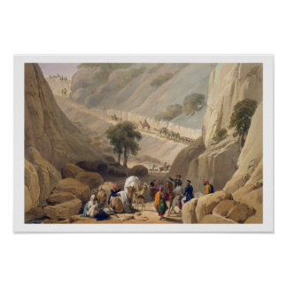 The Troops Emerging from the Narrow Part of the De Print