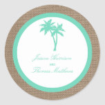 The Tropical Palm Tree Beach Wedding Collection