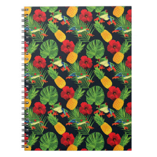 The Tropical Red Eyed Tree Frog Notebooks