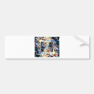 The Tropics Abstract.jpg Bumper Sticker