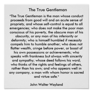 The True Gentleman Poster