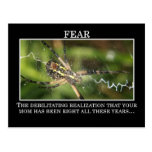 The True Meaning of Fear Postcards