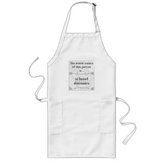 The truest nature breed dinosaurs long apron