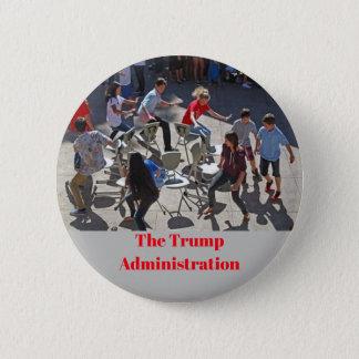 The Trump Administration 6 Cm Round Badge