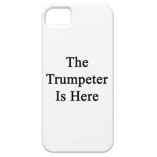 The Trumpeter Is Here iPhone 5 Cover