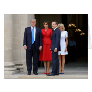 The Trumps & Macrons Card