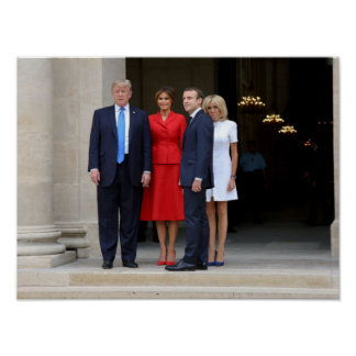 The Trumps & Macrons Poster