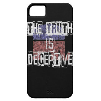 The Truth is Deceptive 1 Barely There iPhone 5 Case