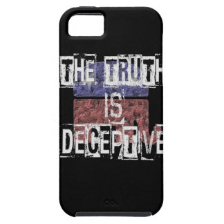 The Truth is Deceptive 1 iPhone 5 Covers