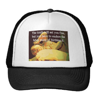 The Truth Will Set You Free Trucker Hats
