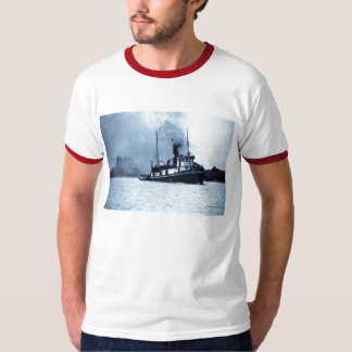 The Tug Jesse James Great Lakes Tug Boat T-Shirt