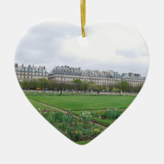 The Tuileries Garden Paris France Christmas Ornament