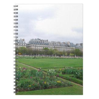 The Tuileries Garden Paris France Spiral Notebook