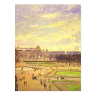 The Tuileries Gardens 2 by Camille Pissarro Postcard