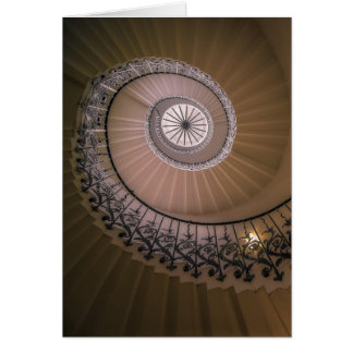 The Tulip Staircase, Queen's House at Greenwich Greeting Card
