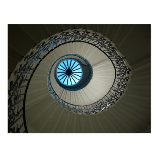 The Tulip Stairs and lantern at the Queen's House Postcard