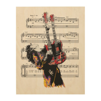 The tune will come to you at last. Wall Art Wood Canvas
