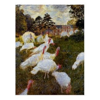 The Turkeys by Claude Monet Postcard