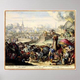 The Turkish Seige of Vienna 1683 Poster