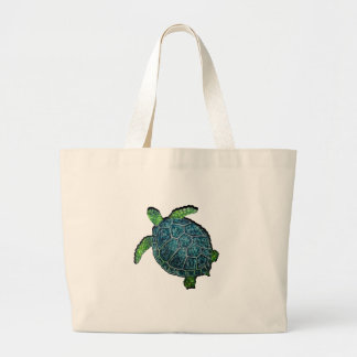 THE TURTLE VIEW LARGE TOTE BAG