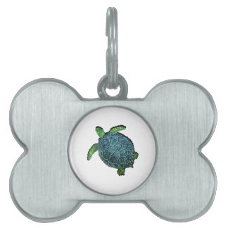 THE TURTLE VIEW PET NAME TAG