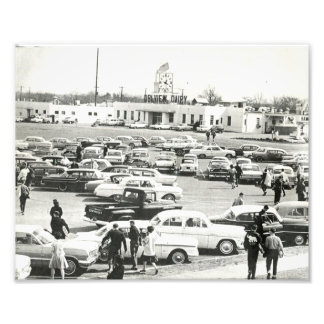 The Tuscaloosa High School Parking Lot Photo Print