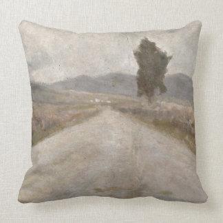 The Tuscan Road, c.1899 (board) Cushion