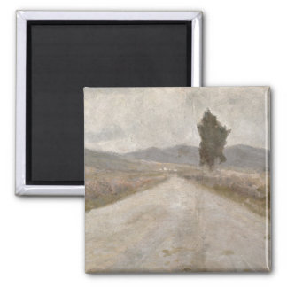 The Tuscan Road, c.1899 (board) Square Magnet