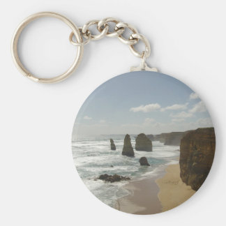 The Twelve Apostles Basic Round Button Key Ring