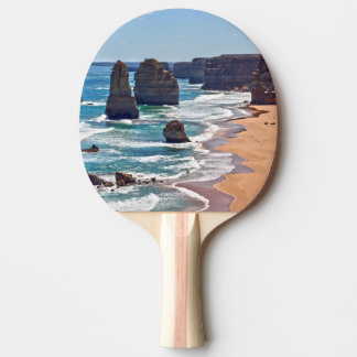 The Twelve Apostles, Victoria, Australia Ping Pong Paddle