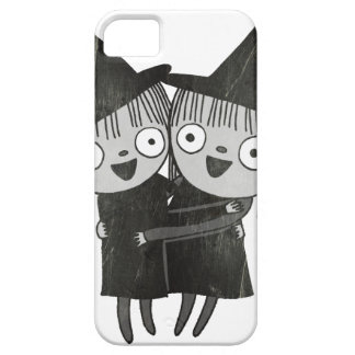 the twin witches barely there iPhone 5 case