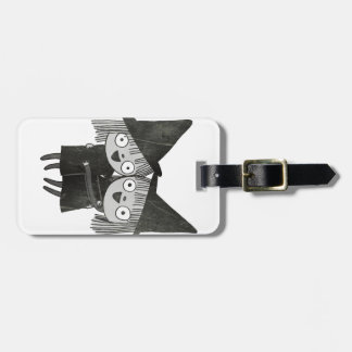 the twin witches luggage tag