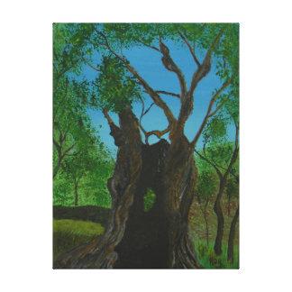 The Twins at Gethsemane Canvas Print
