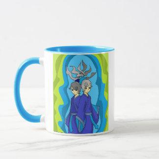 The Twins Gemini Horoscope Sign Coffee Mug