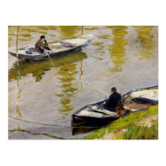 The Two Anglers by Monet Postcard