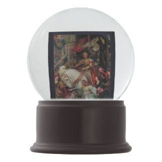 The Two Crowns Frank Dicksee Snow Globe