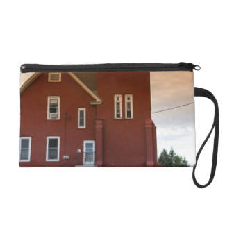 The Two Harbors Lighthouse overlooking Agate Bay Wristlet Purse