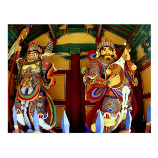 The two heavenly guardians of Buddhism Postcard