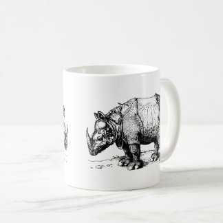 The Two Rhinoceroses Coffee Mug