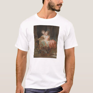 The Two Sisters - Jean-Honoré Fragonard T-Shirt