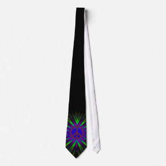 The Tye Dyed Hippie Tie Purple