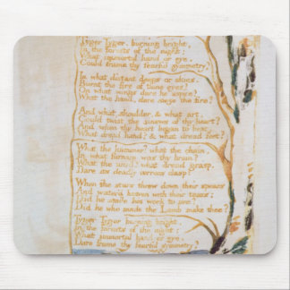 The Tyger, from Songs of Innocence Mouse Pad