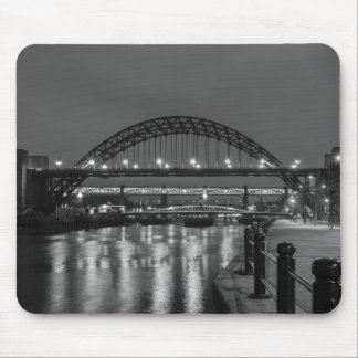 The Tyne Bridge at Night Mouse Pad