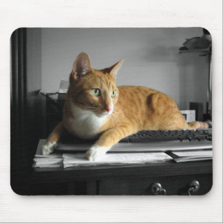 The Typist Mouse Pad