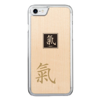 "The typography ""Aura "" of Kanji Carved iPhone 8/7 Case"